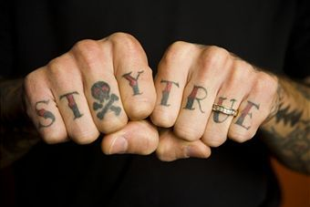 Finger-Tattoos