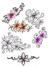 Flower_tattoo_designs_by_AthaMaarit(1)