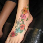 Foot Tattoo Design Ideas for Girl