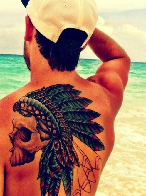 Fotos tatuajes plumas 5