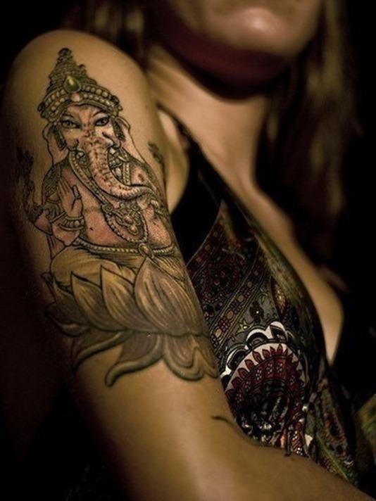 Genesha-tattoo