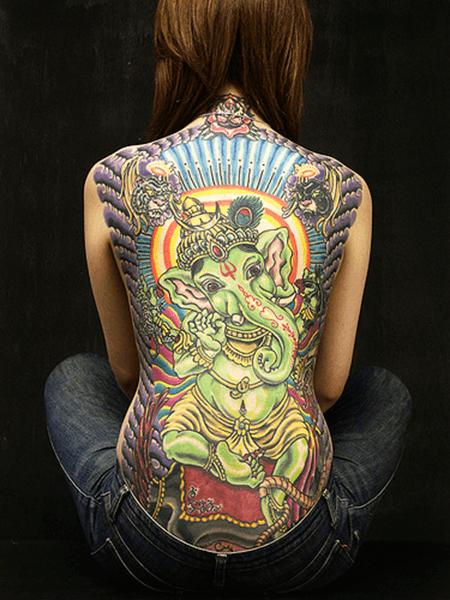 tatuaje asiático