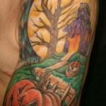 Halloween-Half-Sleeve-tattoo-58422