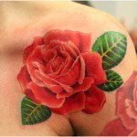Hawaiian-Flower-Tattoo-11