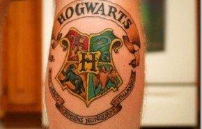 Tatuajes de Harry Potter: Hogwarts