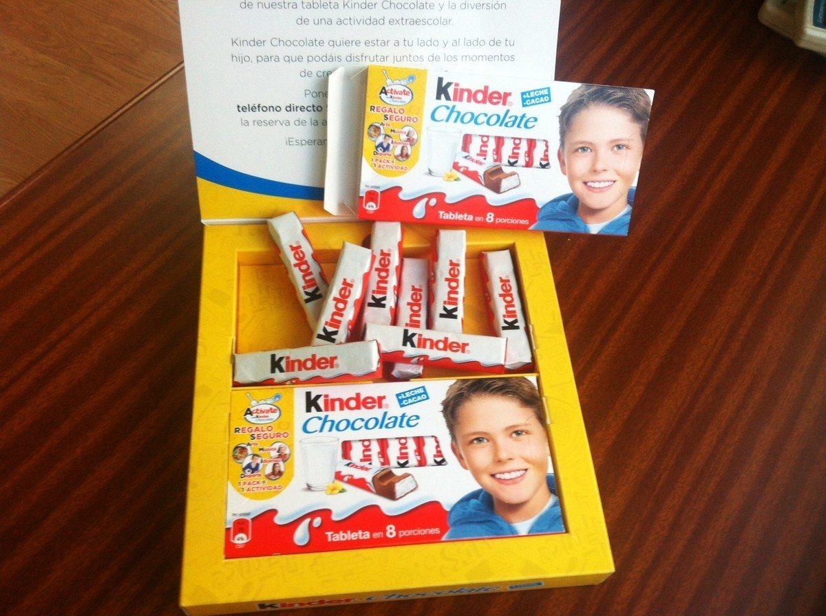 Kinder-chocolate-actividad extraescolar
