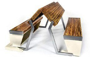 Mesa plegable de Legato Studio