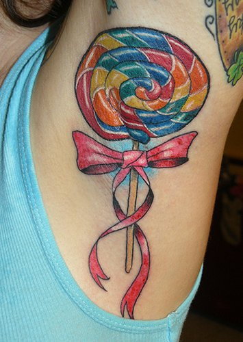 Lollipop Tattoo