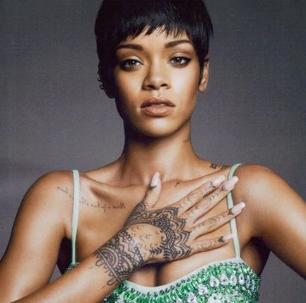 Los tatuajes de Rihanna-3