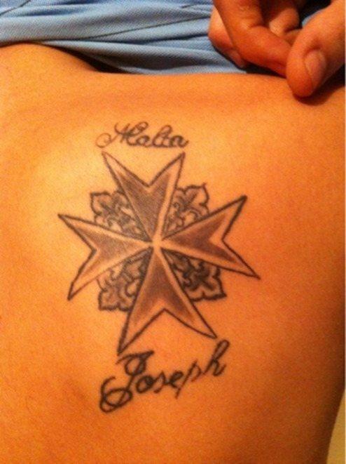 Tatuajes De La Cruz De Malta Tendenziascom
