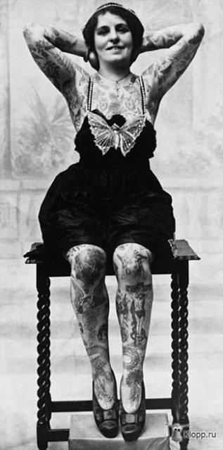 Mujeres tatuadas años 20-2