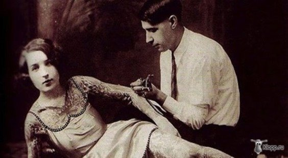 Mujeres tatuadas años 20-3