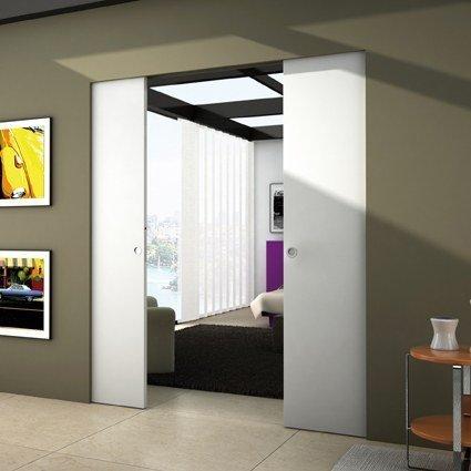 Puerta corredera for Puertas correderas para separar habitaciones