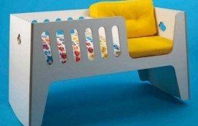 Una cama de último diseño para tus hijos pequeños