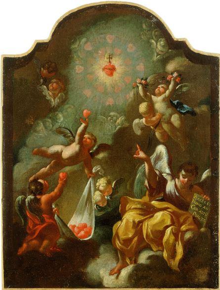 Sagrado corazón de Jesus - Robert de Longe
