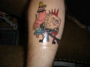 Spongebob-and-Patrick-tattoo-70467