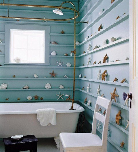 Starfish-and-Shells-Bathroom-Decorating-Ideas