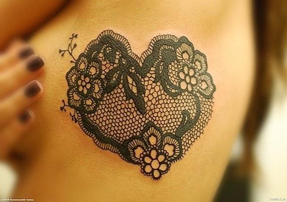 Tattoo de encajes
