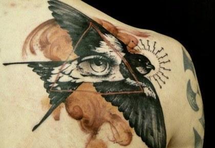 Tattoo ojos
