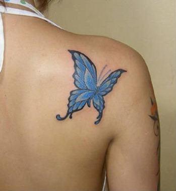 Tatuaje azul