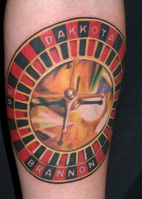 Tatuaje de la ruleta9