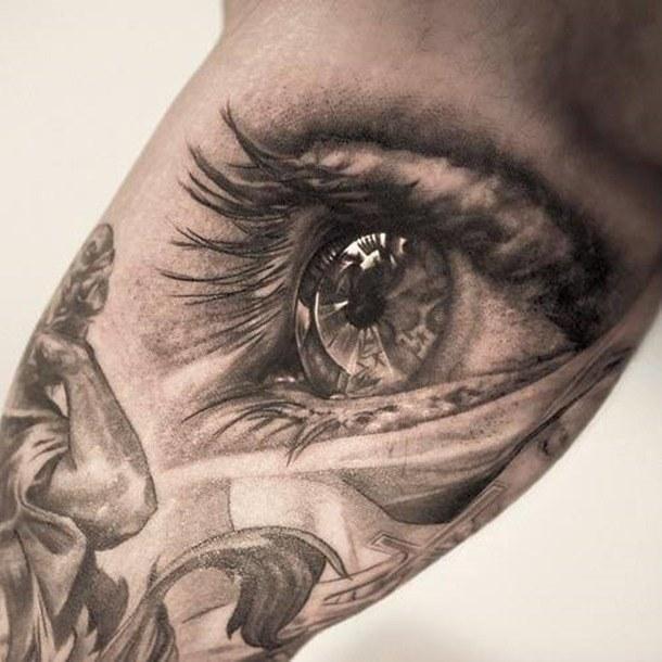 Tattoo Ideas Eyes: Los Tatuajes De Ojos