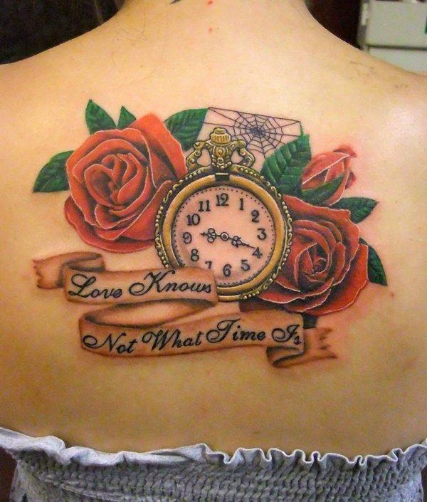 Los Mejores Disenos De Tatuajes De Relojes 2019 Tendenzias Com