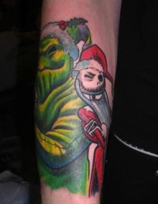 Tatuaje el grinch