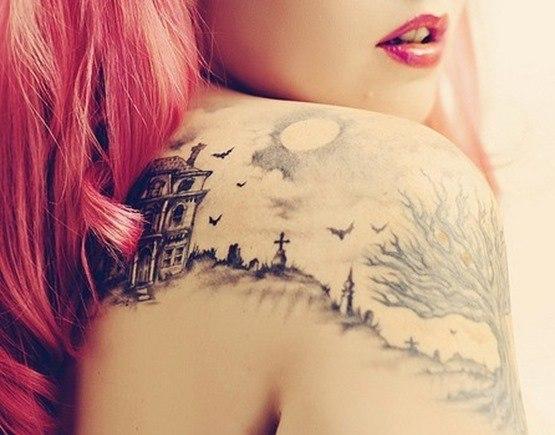 Tatuaje murciélagos4