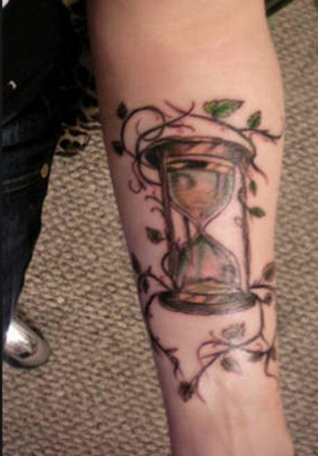 Tatuajes De Relojes De Arena Tendenziascom