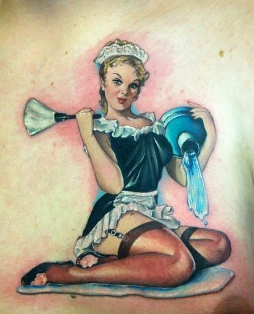 Tatuajes de chicas pin up 3