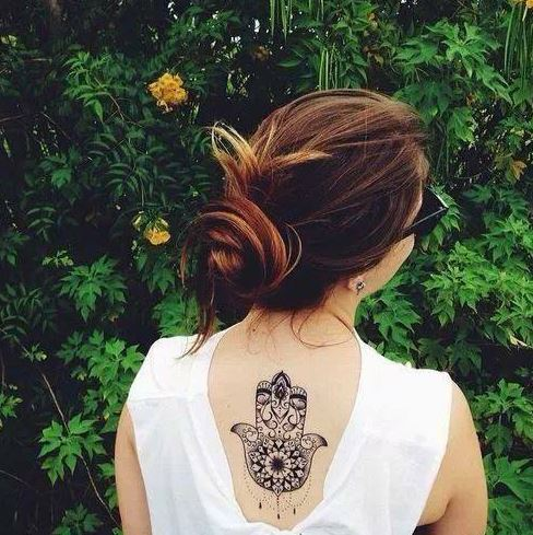 Tatuajes De La Mano De Fátima O Hamsa Tendenziascom