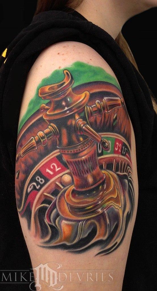Tatuajes de la ruleta