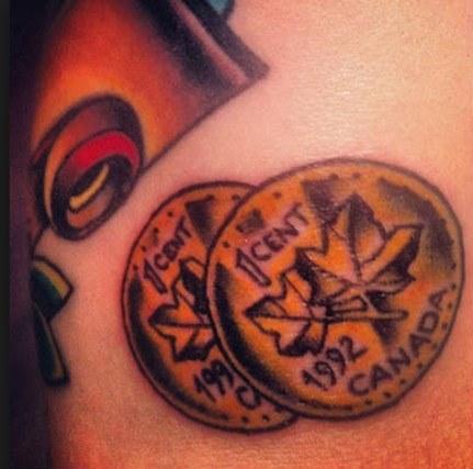 Tatuajes de monedas