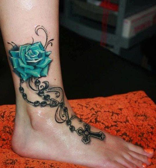 Tatuajes en azul 3