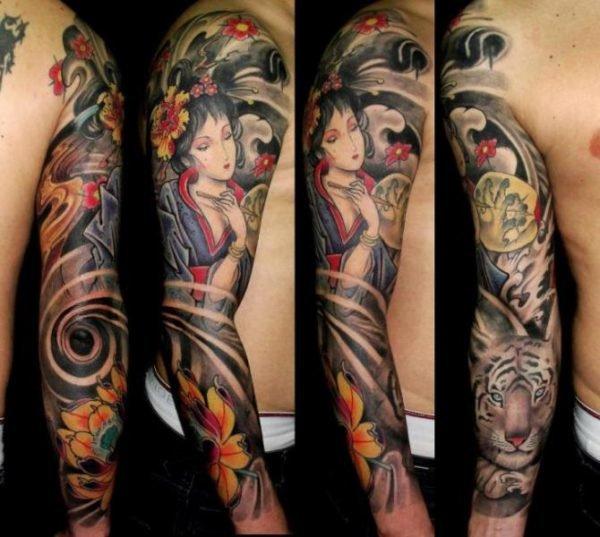 Tatuajes japoneses tatuajes de geishas for Vater japones