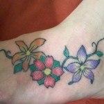 Tatuajes para el empeine10