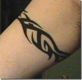 Tribal Arm Band Tattoos