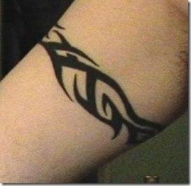 Tribal Arm Band Tattoos