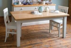 Mesas De Cocina Tendenziascom - Mesas-de-cocina-en-madera