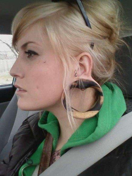 Dilataciones de oreja| fotos