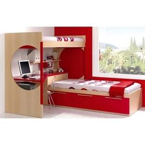 Muebles juveniles for Amoblamientos para dormitorios