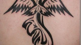 Tatuajes de angeles para mujeres