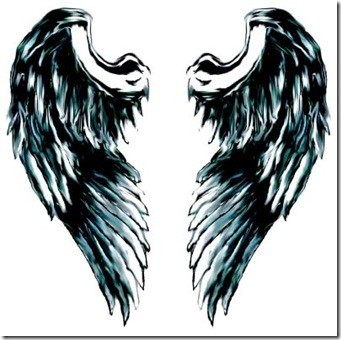 angel wings tattoo 3