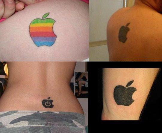 Tatuaje de marcas - Apple