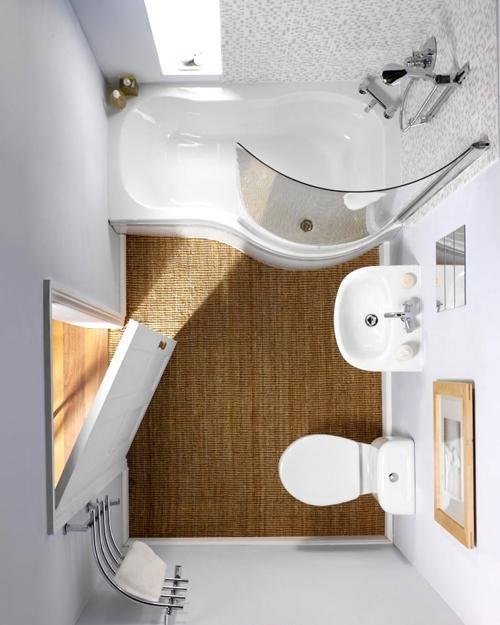 aprovechar baños pequeños