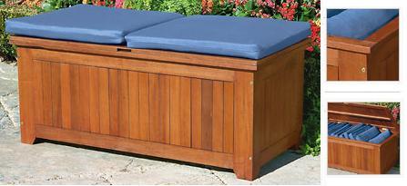 El banco ideal para el exterior de casa - Baul con asiento ...
