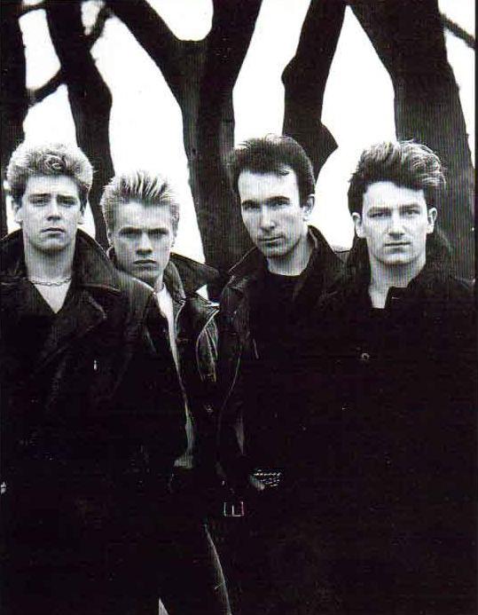 bandas de los 80 U2