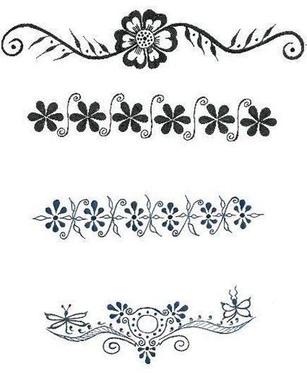 Tatuajes de brazaletes-