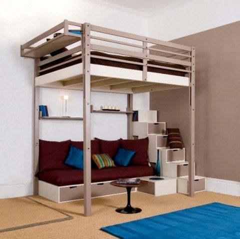 Tendencias en camas individuales for Como hacer una base para cama individual